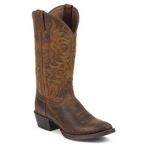 Justin 9.5 D Stampede Western 2561 Mens Boots